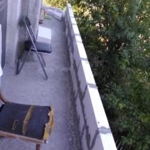 Зидане на тераси с YTONG 06