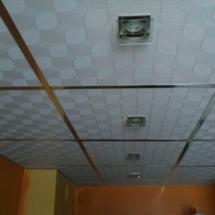 Направа на окачен таван 02
