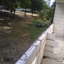 Зидане на тераси