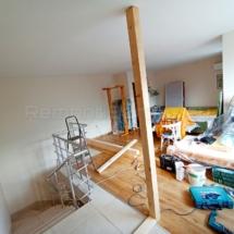 Изграждане на дървена стена 01