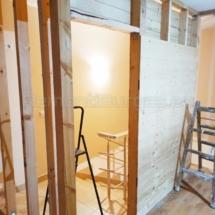 Изграждане на дървена стена 04