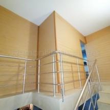 Изграждане на дървена стена 08