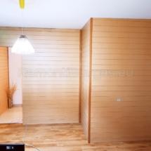 Изграждане на дървена стена 09
