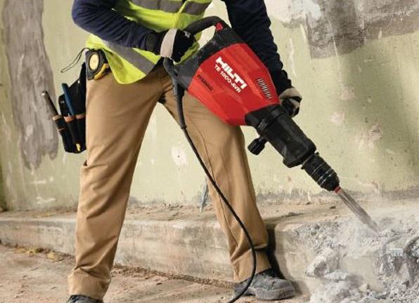 Къртене на бетон